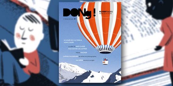 Culturebox | «Dong !» La nouvelle revue de reportages des 10-15 ans pour se poser et mieux comprendre le monde